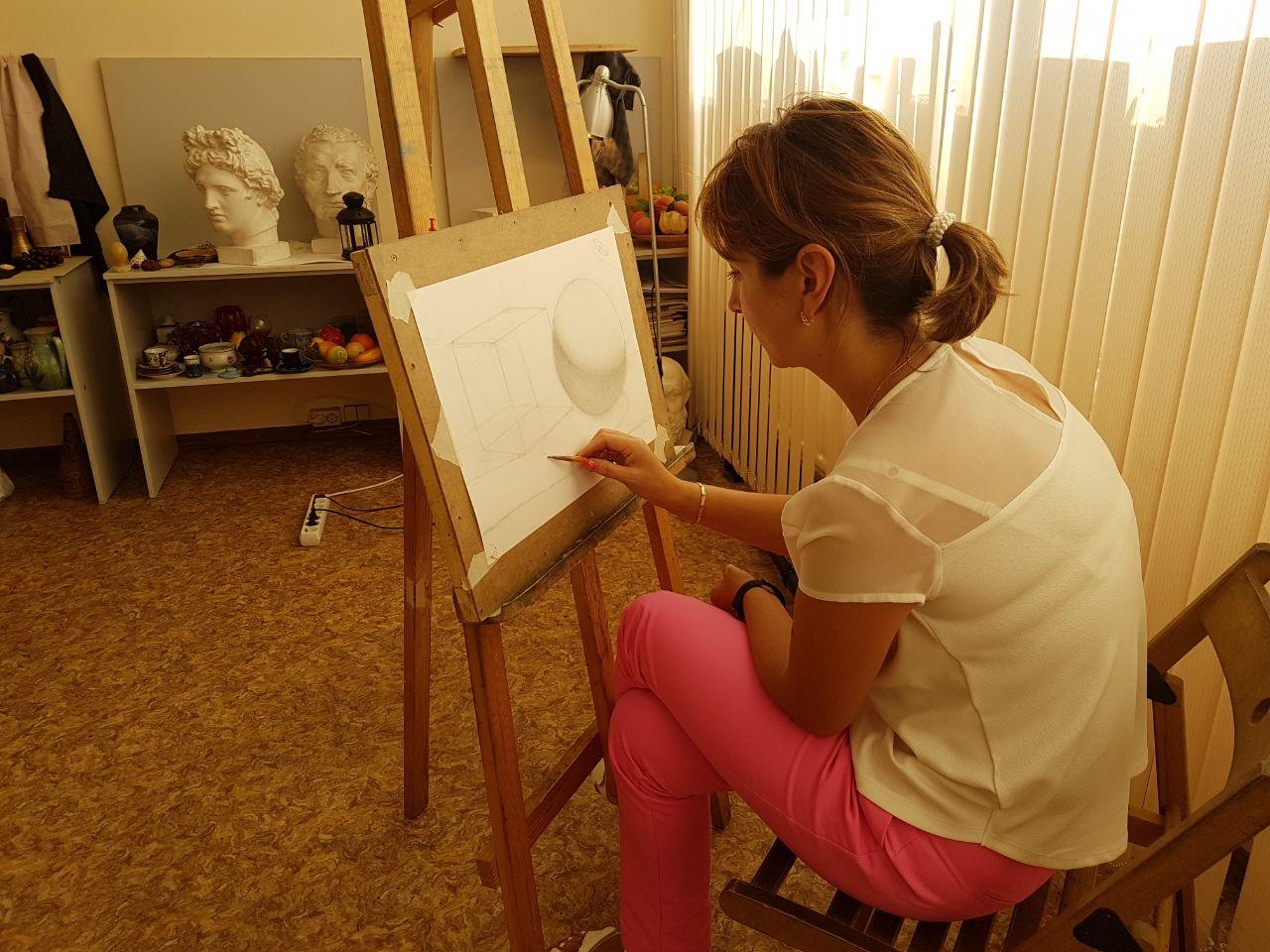 Начинающий художник картинка